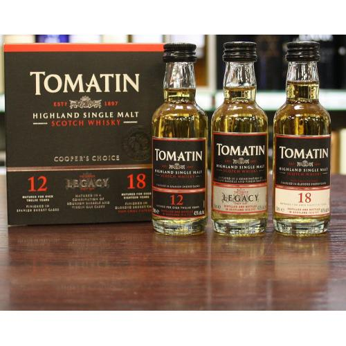 Tomatin Pack 3 x 5cl