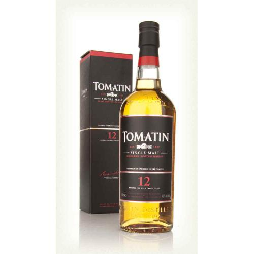 Tomatin 12 Year Old Single Malt Scotch Whisky - 70cl 40%