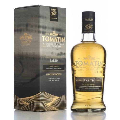 Tomatin Five Virtues Earth Single Malt Scotch Whisky - 70cl 46%