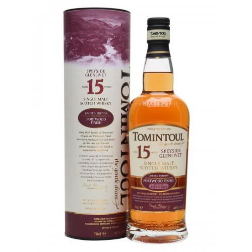 Tomintoul 15 Year Old Portwood Finish - 70cl 46%