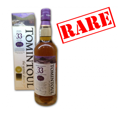 Tomintoul 33 years old 70cl - Best Speyside Whisky 2010