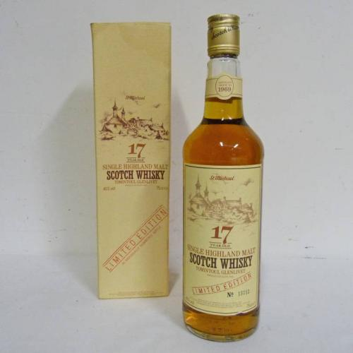Tomintoul Glenlivet 17 Year Old 1969 Whisky - 75cl 40%