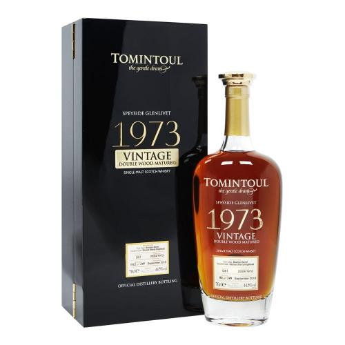 Tomintoul 45 year old 1973 - 44.5% 70cl