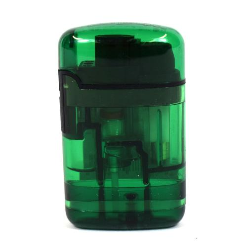 Easy Torch Transparent Jet Lighter - Green