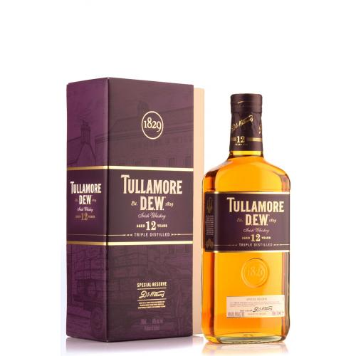Tullamore Dew 12 Year Old Special Reserve Irish Whiskey - 70cl 40%