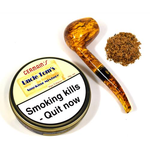 Germains Uncle Tom Pipe Tobacco 50g Tin