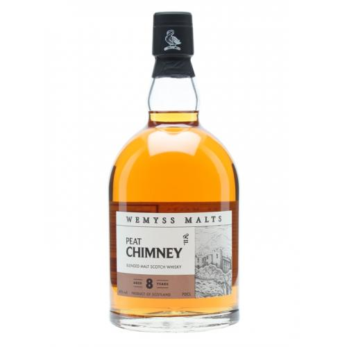 Peat Chimney 8 Year OId Blended Scotch (Wemyss Malts) Whisky - 70cl 40%