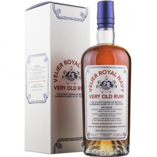 Velier Royal Navy Very Old Rum - 70cl 57.18%