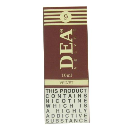 DEA Velvet Vape E- Liquid 3 x 10ml 09mg
