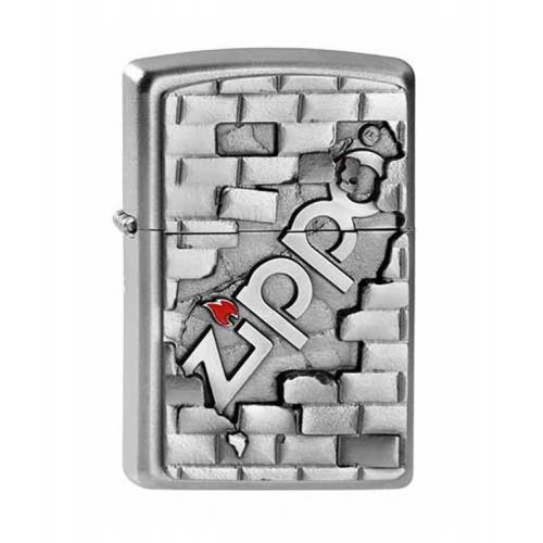 Zippo - The Wall Emblem - Windproof Lighter