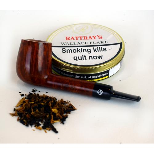 Rattrays Wallace Flake Pipe Tobacco (Tin)