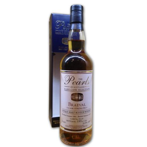 Pearls of Scotland - Braeval 1991 Whisky - 70cl, 52.9%