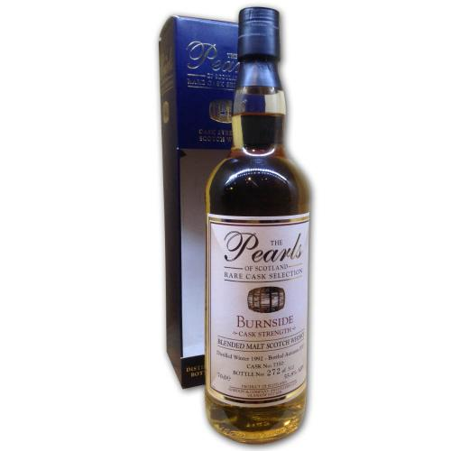 Pearls of Scotland - Burnside 1992 Whisky 70cl, 55.8%