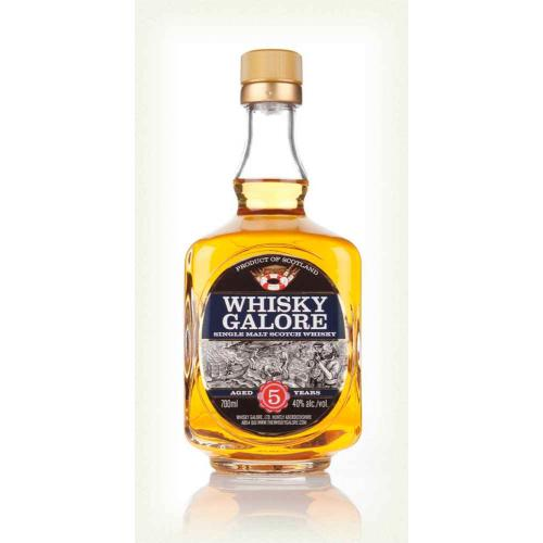 Whisky Galore 5 Year Old Single Malt Scotch Whisky - 70cl 40%