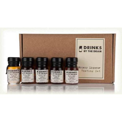 Drinks by the Dram Whisky Liqueur Tasting Set - 5 x 3cl
