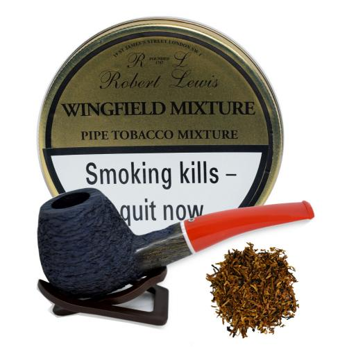 Robert Lewis Wingfield Mixture Pipe Tobacco 50g Tin - End of Line