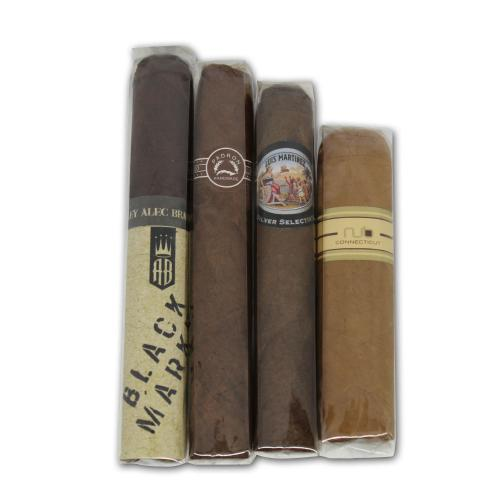 New World Medium Strength Sampler - 4 Cigars