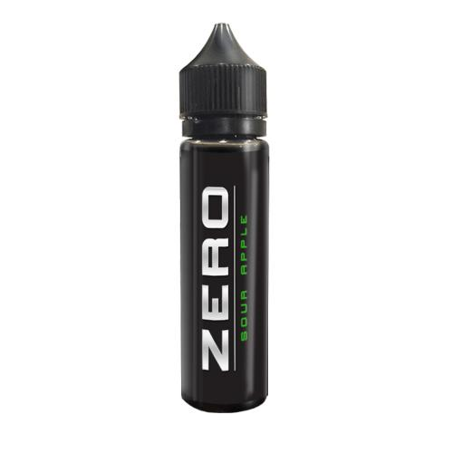 Zero Sour Apple Vape E-Liquid - 50ml 0mg
