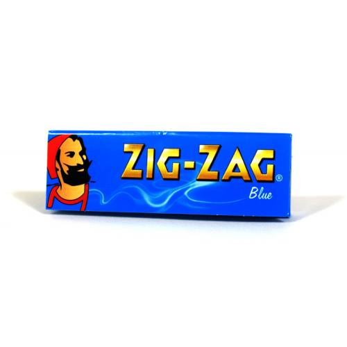 Zig-Zag Regular Blue Rolling Papers 1 Pack