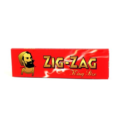 Zig-Zag Kingsize Red Rolling Papers 1 Pack