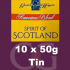 American Blends Spirit of Scotland 10x50g Tins