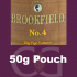 Brookfield No. 4 Pipe Tobacco 050g Pouch