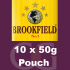 Brookfield Pipe Tobacco 10x50g Pouches