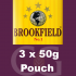 Brookfield Pipe Tobacco 3x50g Pouches