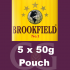 Brookfield Pipe Tobacco 5x50g Pouches