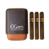 C.Gars Two Tone Cigar Case Seco and Inka Red Robusto Sampler