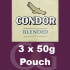 Condor Blended Pipe Tobacco 150g (3 x 50g Pouches)