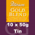 Peterson Gold Blend Pipe Tobacco - 500g (10 x 50g Tins)