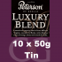 Peterson Luxury Blend Pipe Tobacco - 500g (10 x 50g Tins)