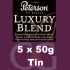 Peterson Luxury Blend Pipe Tobacco - 250g (5 x 50g Tins)