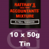 Rattrays Accountants Mixture Pipe Tobacco 10x50g Tins
