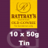 Rattrays Old Gowrie Pipe Tobacco 10x50g Tins