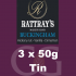Rattrays Buckingham Pipe Tobacco 3x50g Tins