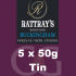 Rattrays Buckingham Pipe Tobacco 5x50g Tins