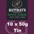 Rattrays Royal Albert Pipe Tobacco 10x50g Tins