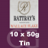 Rattrays Wallace Flake Pipe Tobacco 10x50g Tins