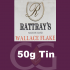 Rattrays Wallace Flake Pipe Tobacco 50g Tin
