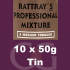 Rattrays Professional Mixture Pipe Tobacco 10x50g Tins
