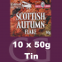 Samuel Gawith Seasons Scottish Autumn Flake Pipe Tobacco 10x50g Tins