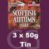 Samuel Gawith Seasons Scottish Autumn Flake Pipe Tobacco 3x50g Tins