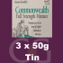 Samuel Gawith Commonwealth Mixture Pipe Tobacco - 3x50g Tins