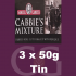 Samuel Gawith Cabbies Roll Cut Mixture Pipe Tobacco 3x50g Tins