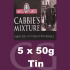Samuel Gawith Cabbies Roll Cut Mixture Pipe Tobacco 5x50g Tins