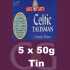 Samuel Gawith Celtic Talisman Pipe Tobacco 5x50g Tins