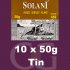 Solani Pipe Tobacco Aged Burley Flake 10x50g Tins