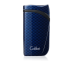 Colibri Falcon Carbon Fiber Single-jet Flame Lighter - Blue